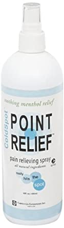 Point Relief 11-0702-1 ColdSpot Spray, 16 oz Bottle