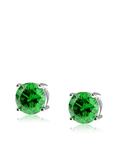 CZ BY KENNETH JAY LANE 4Cttw Cz Stud Post Earrings, .3 Diameter Size