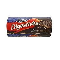 Mcvities Dark Chocolate Digestives 300g Pack of 4 (Chocolate Biscuits compare prices)