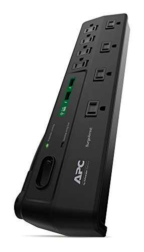 apc-surgearrest-surge-protector-power-strip-with-usb-charger-ports-p8u2