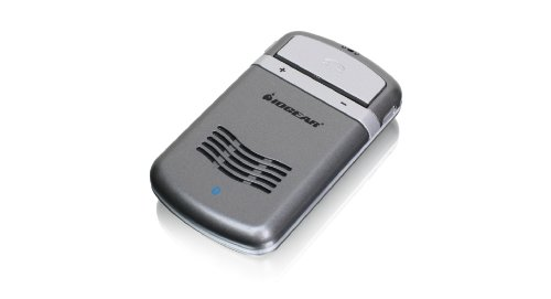 Iogear Solar Bluetooth Hands-Free Speakerphone Car Kit Gbhfk331 (Gray)