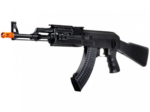 Licensed Echo1 Red Star Arms Ak-47 Ris Tactical Electric Airsoft Gun Full Metal Fps-430