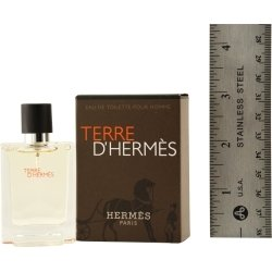 Hermès TERRE D'HERMES by Hermes for MEN: EDT SPRAY .41 OZ (note* minis approximately 1-2 inches in height) by Hermes