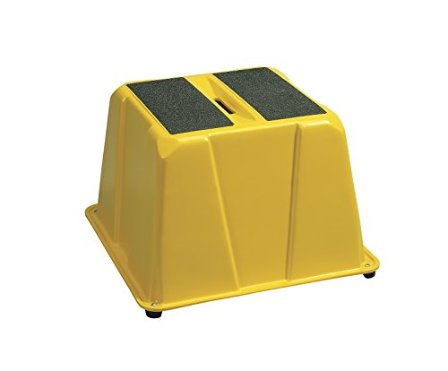 Lightweight Industrial Step Stool 500 Lb Capacity 16
