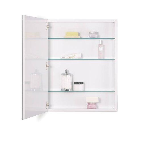 NuTone 52WH304PF Metro Classic Oversize Medicine Cabinet, 30-inch High, 4-Inch Depth, Flat Trim
