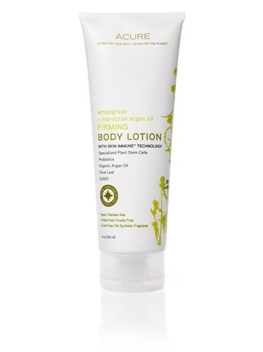 Acure Organics Lemongrass + Moroccan Argan Oil Firming Body Lotion