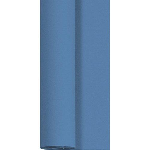 Duni Dunicel Tischdeckenrolle Mid Blue 1,25 m x 10 m, Tischdecke Mid Blue, Papiertischdecke Mid Blue, Tischdecke Hochzeit, Tischdeckenrolle blau, Tischdekoration