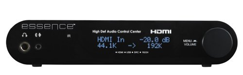 World'S Most Fully Featured Dac Includes Hdmi, Usb, Optical, & Coaxial In; Upscales All Your Music Files To 24 Bit/192K