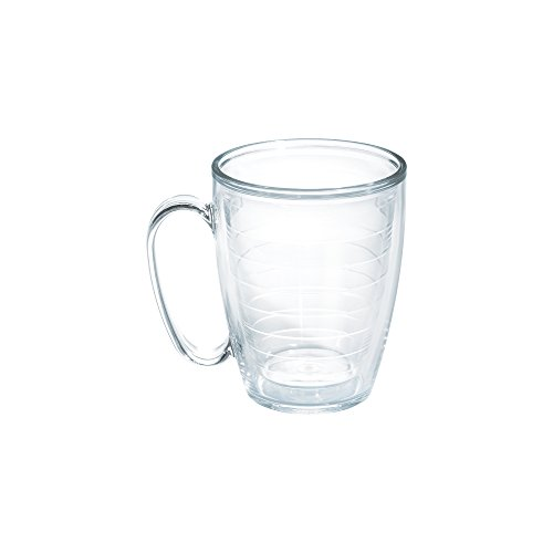 Tervis Mug, Clear, 16 oz, Clear (Tervis Tumbler 15oz With Lid compare prices)