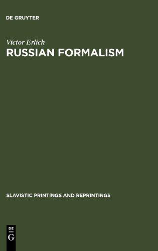 Russian Formalism: History - Doctrine (Slavistic Printings and Reprintings)