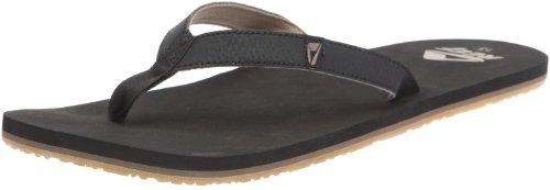 Reef Men's Reef Slim Smoothy Black Flip Flops R0242BLA 12 UK
