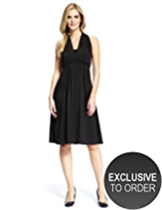 M&S Collection Pleated & Flared Multiway Dress
