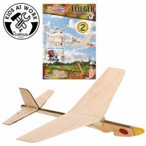 CORVUS-KIDS-AT-WORK-Balsaflieger-Bau-satz-Model