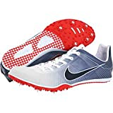 Nike Zoom Victory Running Spikes White/Red 14 UK UK