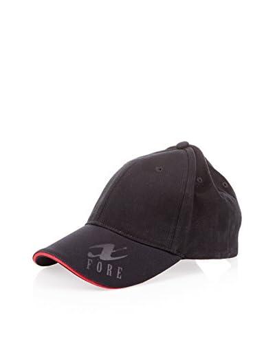 Xfore Golfwear Gorra Negro