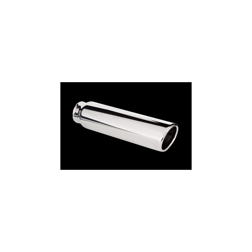 Carriage Works 5045 Polished 304 Stainless Steel Exhaust Tip