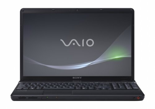 Sony VAIO VPC-EB42FX/BJ 15.5-Inch Widescreen Entertainment Laptop (Black)