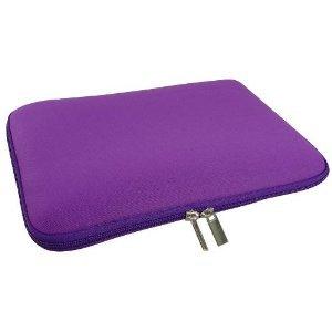 GAGS Purple Dual Zipped Anti Shock Water Resistant Neoprene Sleeve / Case / Pouch for 11.6 inch Netbook / Webbook / Laptop / Mini Notebook