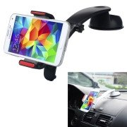 Baseus Extend Car Mount Stand with Sucker Base 360 Degree Rotation, Width: 60mm - 93mm(Black)
