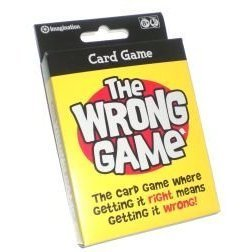 The Wrong Game Card Game by Imagination - 1