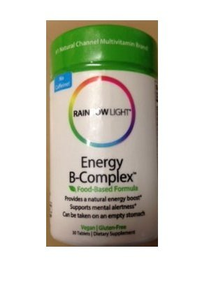 Rainbow Light Energy B-Complex 30 Tablets (Pack Of 3)