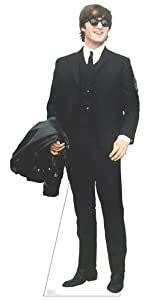 THE BEATLES JOHN LENNON LIFESIZE CARDBOARD STANDUP STANDEE CUTOUT POSTER FIGURE