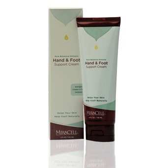 Miracell Hand And Foot Support Cream 4 Oz