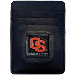 NCAA Oregon State Beavers Leather Money Clip/Cardholder