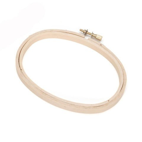 Bulk Buy: Darice DIY Crafts Wooden Embroidery Hoops Oval 3 x 5 inches (6-Pack) 39838 (Embroidery Oval Hoop compare prices)