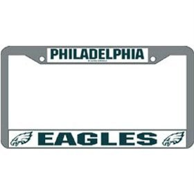 Philadelphia Eagles Chrome Frame