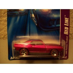 Hot Wheels 2006 Red Line 1969 Pontiac Firebird 100/223 1:64 Scale