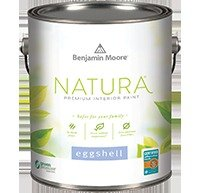 Natura Waterborne Interior Paint - Eggshell Finish(513) (Benjamin Moore Paints compare prices)