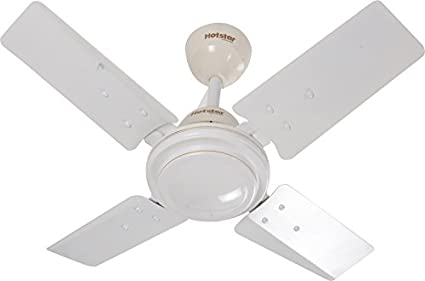 Cute Plain 4 Blade (600mm) Ceiling Fan