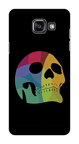 Koveru Back Cover Case for Samsung Galaxy A5-2016 - Colored Skull
