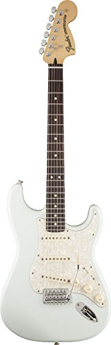 Fender フェンダーUSA デラックス ロードハウス ストラトキャスター ソニックブルー Deluxe Deluxe Roadhouse Stratocaster, RW, Sonic Blue[並行輸入]