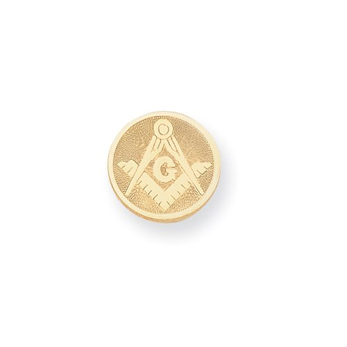 Gold-plated with Chain Masonic Tie Tack