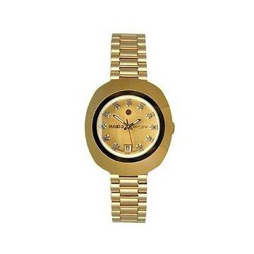 Rado Original Diastar Gold-Tone Champagne Ladies Watch R12416633 from Rado