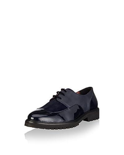 Goldmud Zapatos derby Juma Lady Azul