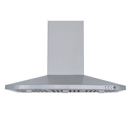 Windster Windster 36W In. Ra-2390 Series Wall Mounted Range Hood, Silver front-225365