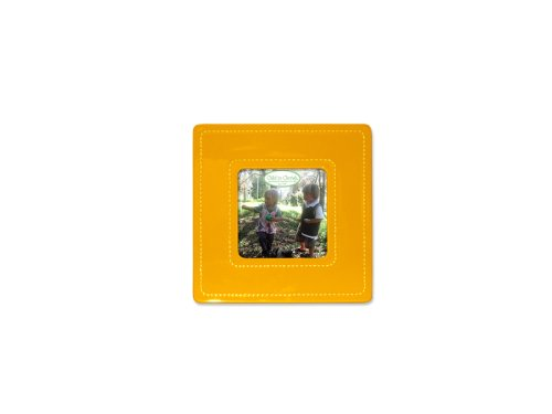 Child to Cherish Small Stitched Ceramic Frame, Orange