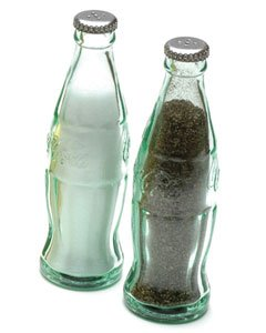 Coca-Cola Bottle Salt and Pepper Shaker