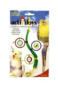 Cheap JW Pet Company Insight The Wave Small Bird Toy Assorted Colors (JW31034)