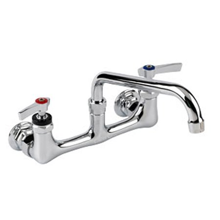 Encore Wall Mount Faucet with 8 Adjustable Centers and 10 Swing ...
