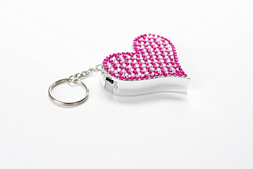 Give A Gift of Protection To Your College Bound Graduate, With Our Diamante Purple Heart Personal Alarm. Easily Attaches to Purse/Backpack, etc. With Its KeyRing Loop. Helps Ward Off Attackers/Purse Snatcher. Use In Dangerous Situations or Emergencies.