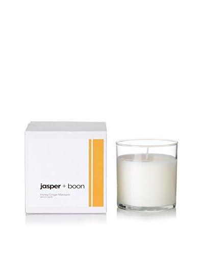 Bluewick Candles 12-Oz. Honey, Ginger & Mandarin Jasper + Boon Boxed Candle