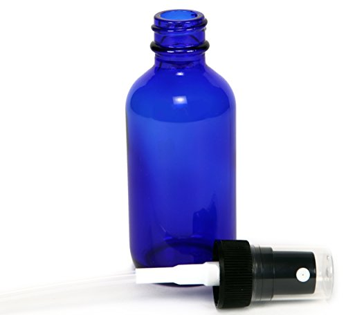 12-New-High-Quality-2-oz-Cobalt-Blue-Glass-Bottles-with-Black-Fine-Mist-Sprayers