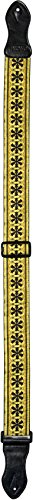 Onori USM-H5 2-Inch Hootenanny Guitar Strap with Custom Woven Patterns