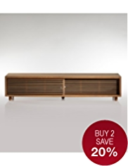 Conran Aiken Slatted Media Unit
