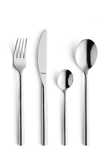 Amefa Monogram Carlton Cutlery Set Stainless Steel 16 Piece