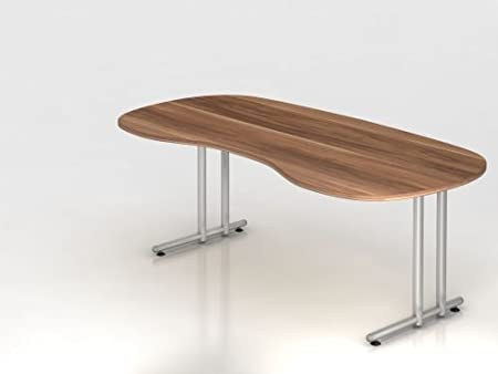 Amstyle escritorio cr7d5ns20, color madera de ciruelo